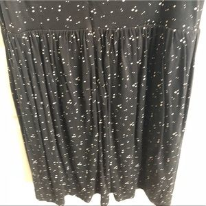 LOFT Dresses - Ann Taylor Loft - Black and Cream Dot Dress